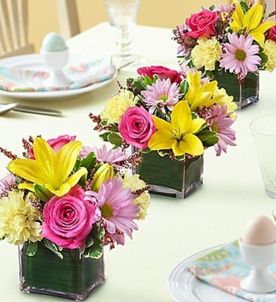 Spring Table Centerpieces, Fresh Flowers Atlanta