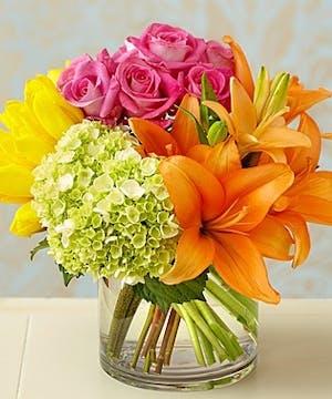 Flower Arrangement Atlanta, Colorburst Bouquet