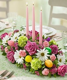 Easter Flowers, Table Centerpiece by Carithers Flowers Atlanta