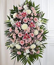 Funeral Flowers Spray, Voted Best Florist Atlanta, Alpharetta, Marietta, Roswell, Sandy Springs, Smyrna