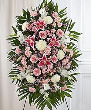 Funeral Flowers Spray, Voted Best Florist Atlanta, Alpharetta, Marietta, Roswell, Sandy Springs, Smyrna
