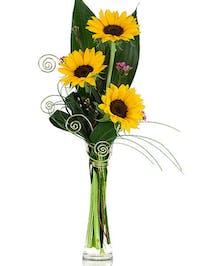 Sunflower Desktop Bunch Vase'
