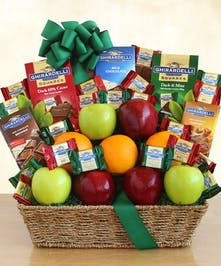 ghirardellil chocolates, gift basket