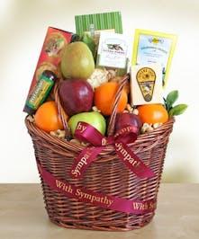 Caring Kindness Sympathy Gift Basket