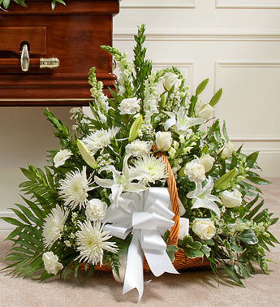Funeral Flowers For A Man Funeral Arrangements Wreaths Baskets
