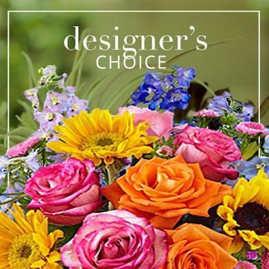 Bright and Cheery Flower Arrangement - Designer's Choice