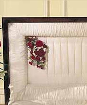 Sympathy Casket Pillow
