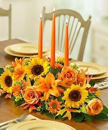 Fresh Fall Centerpiece, Carithers Flowers Atlanta