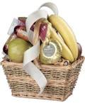 Fruit & Gourmet Treats Basket