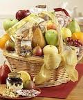 Deluxe Fruit & Gourmet Delight Basket