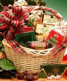 The Holiday Celebrations Gourmet Baskets'