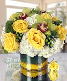 Joyful Wishes flower arrangement by Carithers Flowers Atlanta