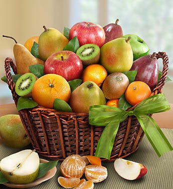 Orchard Fruit Basket Sameday Gift Basket Delivery Carithers Florist