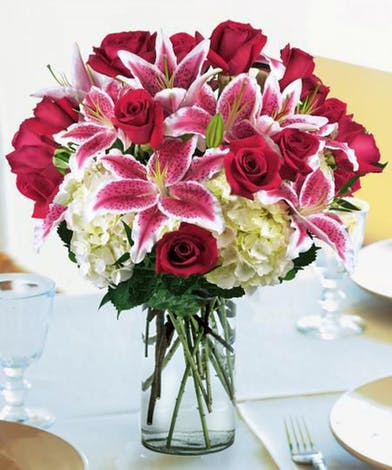 Sunflower Wedding Bouquet Pink