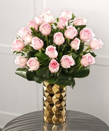 She will love our Tiffany Pink Roses, featuring two dozen from the mountains of Ecuador. 30% larger blooms guaranteed.