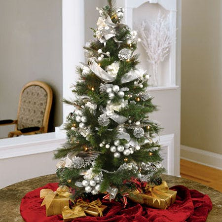 3 foot christmas tree with lights tabletop christmas deliver lighted and decorated silver tabletop christmas tree stands feet tall tree carithers