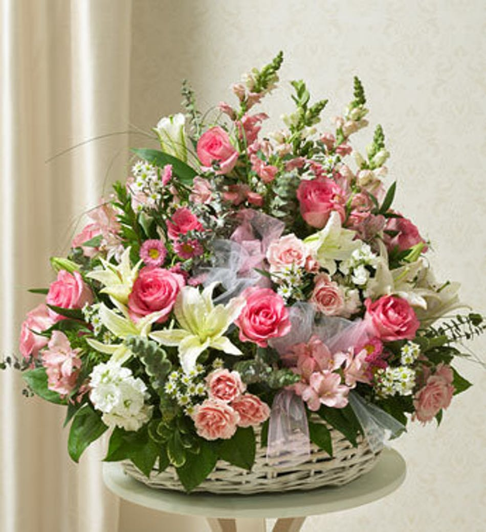 Funeral arrangement for a woman in fresh garden flowers delivery by 1pm today available order within izmirmasajfo