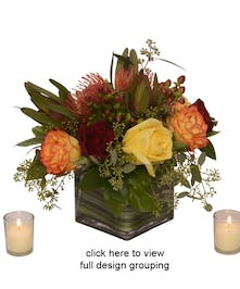 Tuscany Centerpiece' Trio with Votive Candles