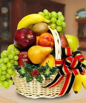 Holiday Fruit Baskets, Holiday Gifts, Carithers Flowers Atlanta GA