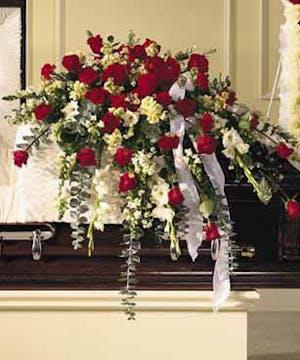 Casket flowers and floral sprays for funeral sympathy casket spray mightylinksfo
