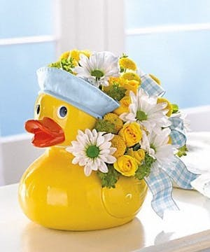Ducky Delight Baby Boy Gift