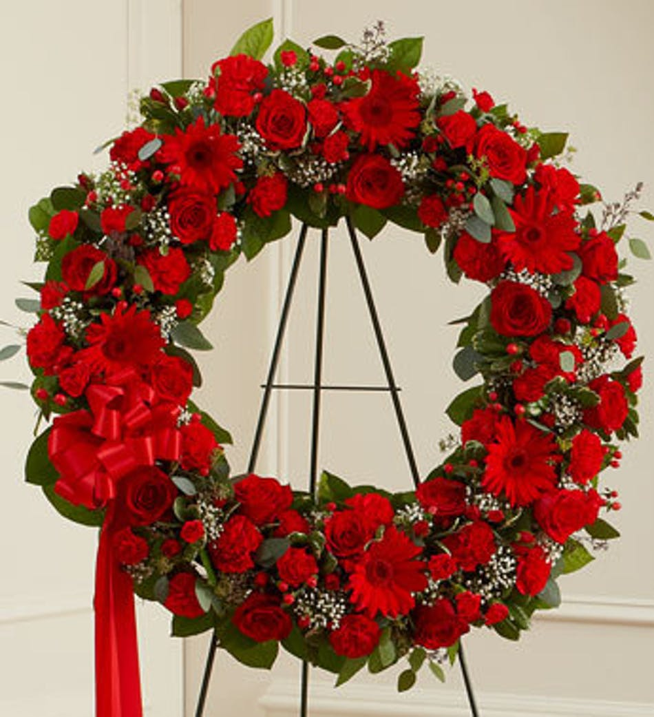 Sincere Sympathy Funeral Wreath