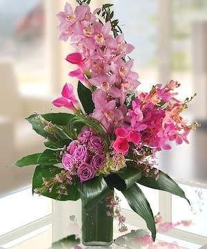 Luxury european flower arrangements atlanta florist carithers flowers island escape mightylinksfo