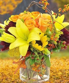 Sunflowers, Lilies, Roses, Carithers Flowers Atlanta, Alpharetta, Lawrenceville, Marietta, Roswell