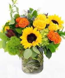 Autumn Surprise Bouquet by Carithers Flowers