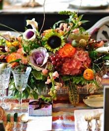 Fall Flower Arrangement Centerpiece, Atlanta Delivery