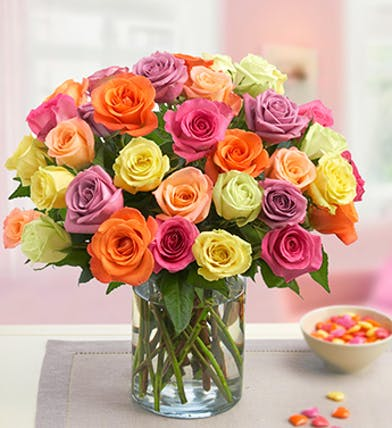 Three Dozen Roses, Carithers Flowers, Rose Delivery Atlanta