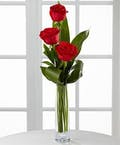 Deluxe Red Rose Budvase