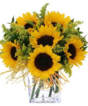 Flower Arrangement of Sunflowers by Carithers, Atlanta Flower Delivery
