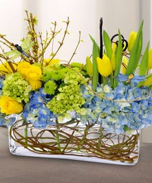Springtime Blooms' Centerpiece