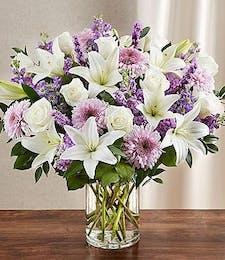 Sincerest Sympathy - Lavender & White