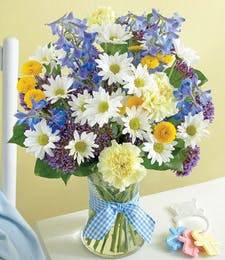 The Baby Boy Blue Bouquet
