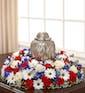 American Patriot Cremation Wreath (Large)
