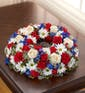 American Patriot Cremation Wreath (Small)