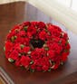 Cremation Table Wreath in Red (Small)