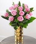 Dozen | Gold Decor Vase