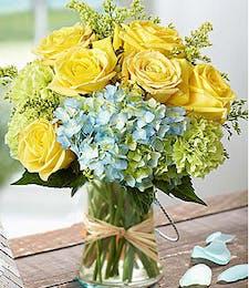 Monet's Garden Vase