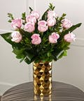 Dozen | Gold Decor Vase