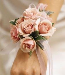 Pure Pink  Grace Corsage