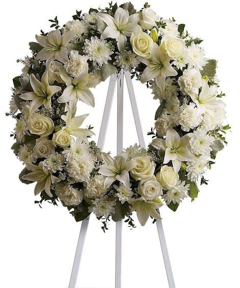 Sympathy Floral Wreaths