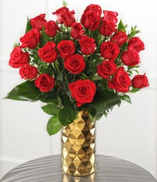 Two Dozen Luxury Red Roses