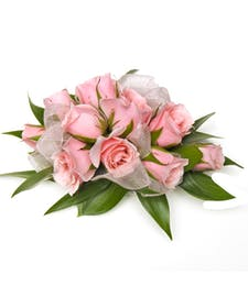 Pink Bliss Sweetheart Rose Wrist Corsage