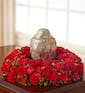 Cremation Table Wreath in Red (Large)