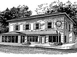 A hand-drawn rendering of our Marietta location